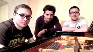 B.B.Q Jazz Gruppenbild im Tonstudio