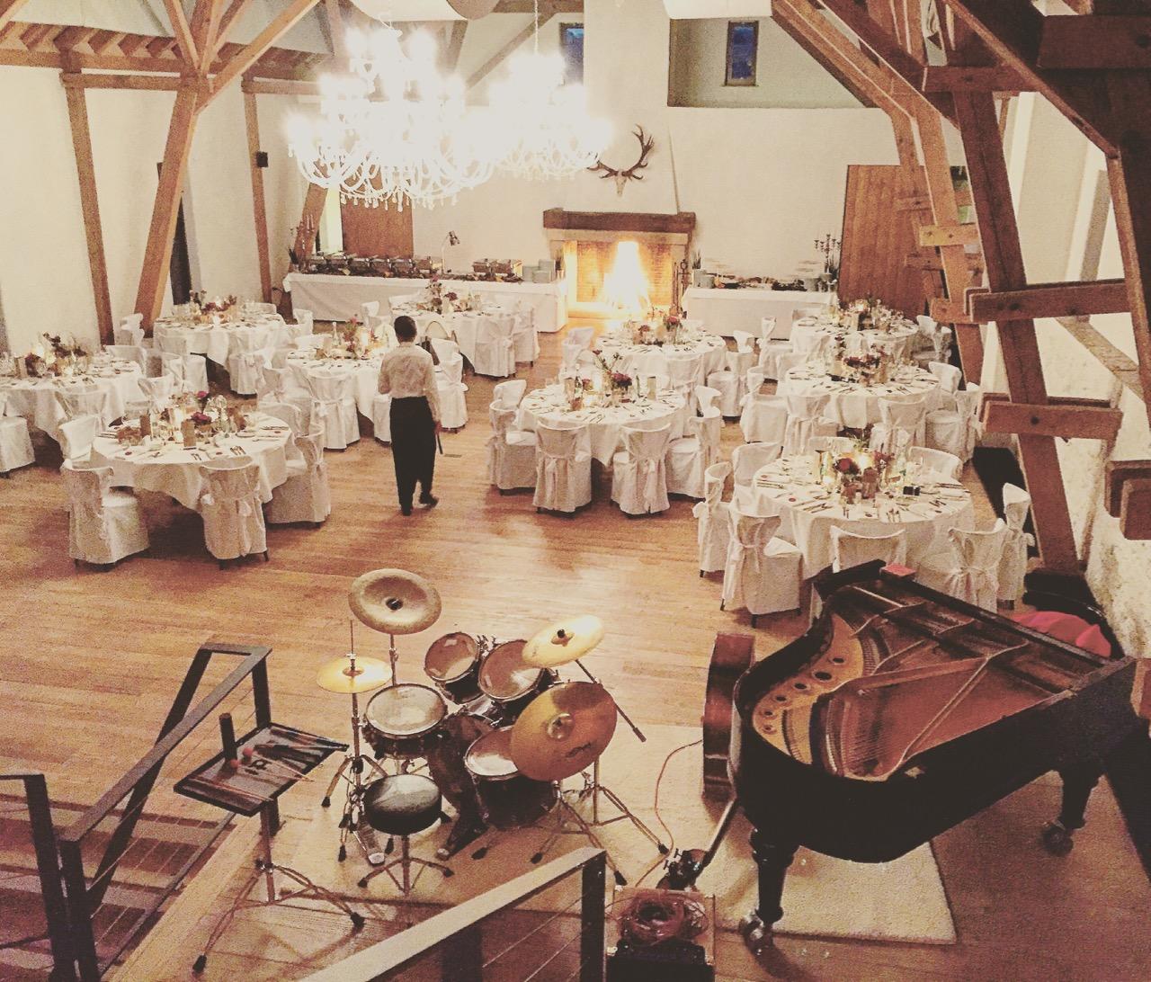 B.B.Q Jazz auf der Maisenburg bei einer Hochzeit - 5