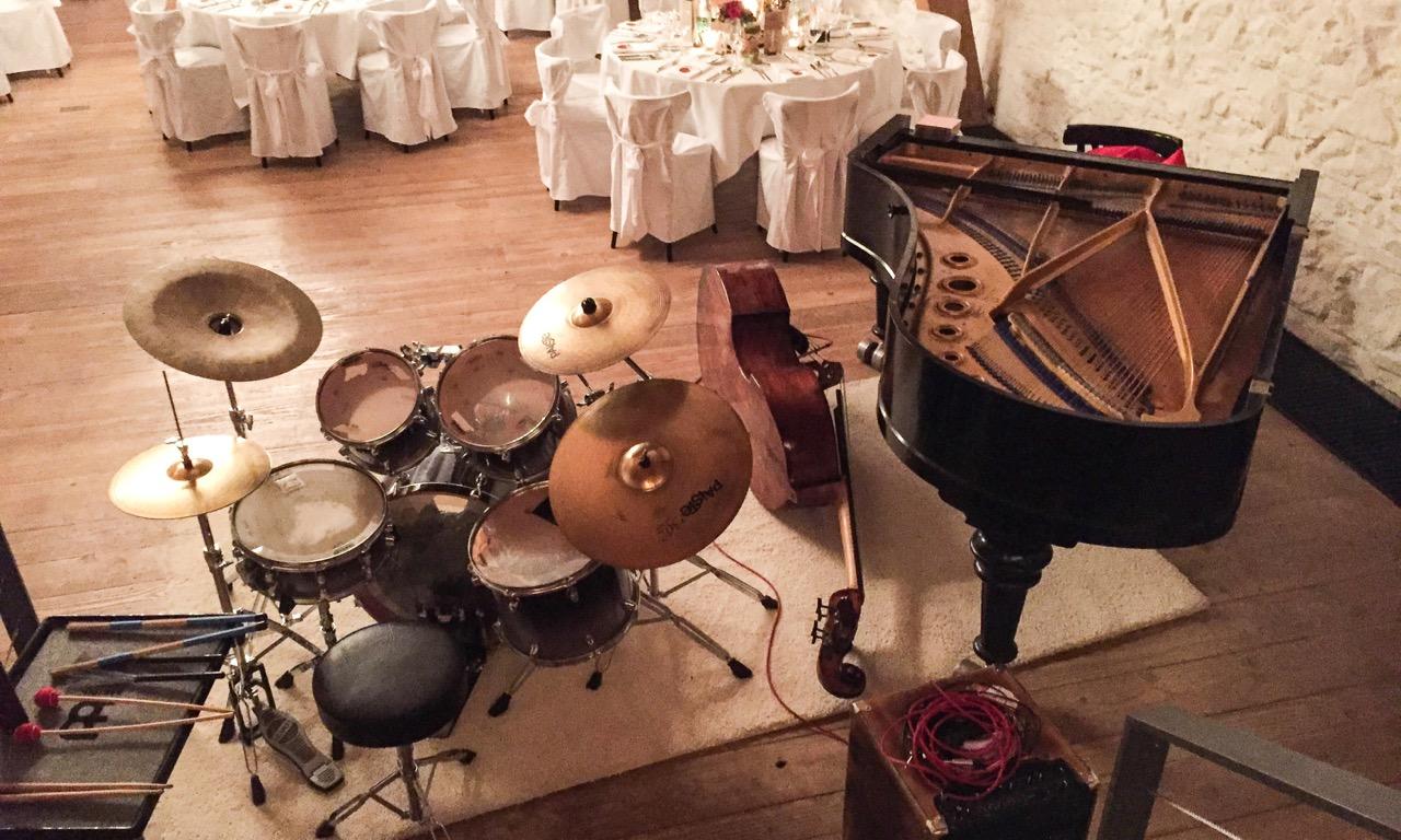 B.B.Q Jazz auf der Maisenburg bei einer Hochzeit - 6