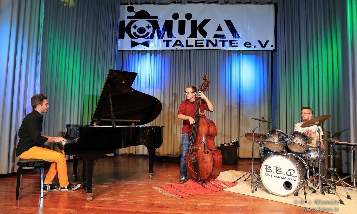 B.B.Q Jazz KoMueKa Talentabend Stuttgart Leonberg Jazz JazzTrio - 1