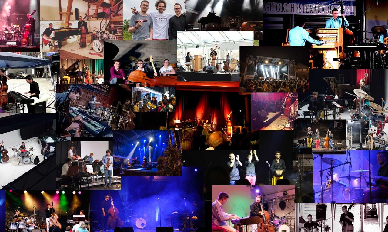 10 Jahre BBQJazz Collage LQ